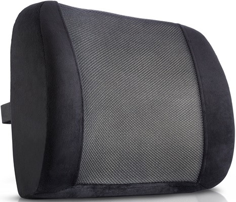 King Comfort - lumbar support cushion memory foam