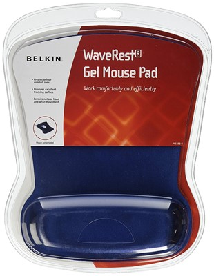 Belkin Waverest Gel Mouse Pad - best mouse pad and wrist rest