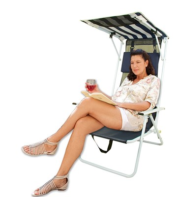 Quik Shade Beach Chair - best beach chair for bad back