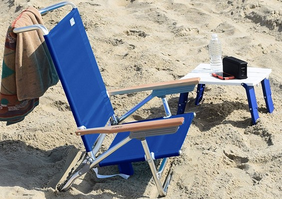 Rio Brands 5 Position Beach Chair - best portable beach chair