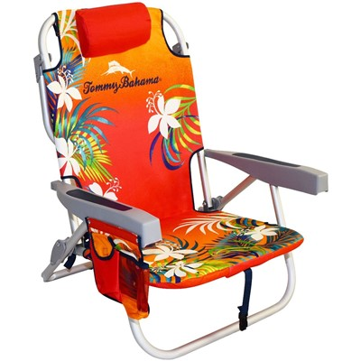 Tommy Bahama Backpack Cooler Chair - best beach chair for big guys