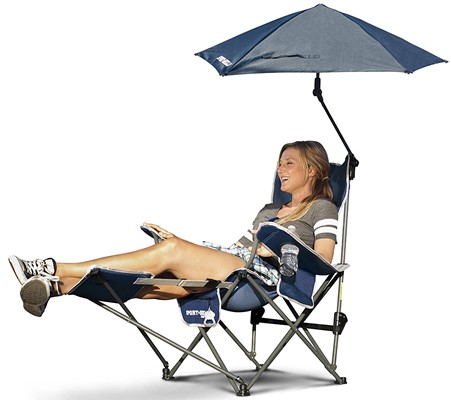 sport-Brella Recliner Chair - best portable beach chair