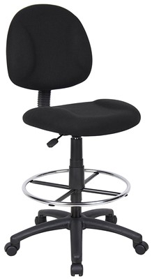 Boss Office Products B1615-BK - top rated executive office chairs