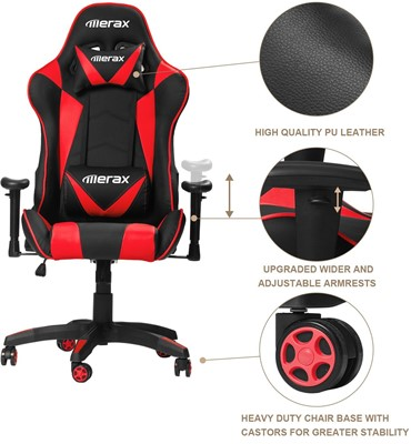 Merax Gaming Chair Review - best cheap gaming chair