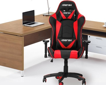 Merax Gaming Chair Review   Best Pc Gaming Chair Under 200