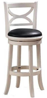 Boraam 43729 Florence Bar Height Swivel Stool - swivel bar stools with back metal