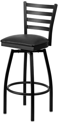 Flash Furniture Hercules Series Bar Stool - leather bar stools with back swivel