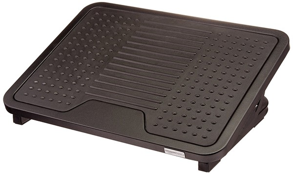 AmazonBasics Foot Rest - best footrest for computer desk
