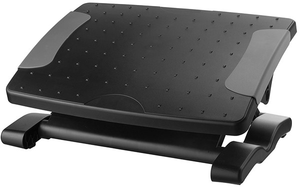 Kantek Professional Adjustable Footrest - footrest for computer desk work