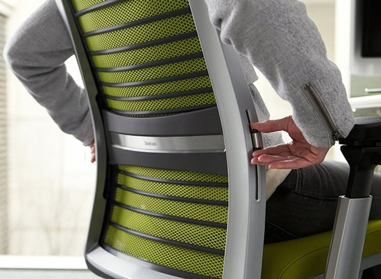 Steelcase Think Chair Review - steelcase think chair lumbar support