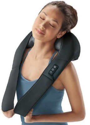 Brookstone Shiatsu Neck and Back Massager - best neck and shoulder massager reviews