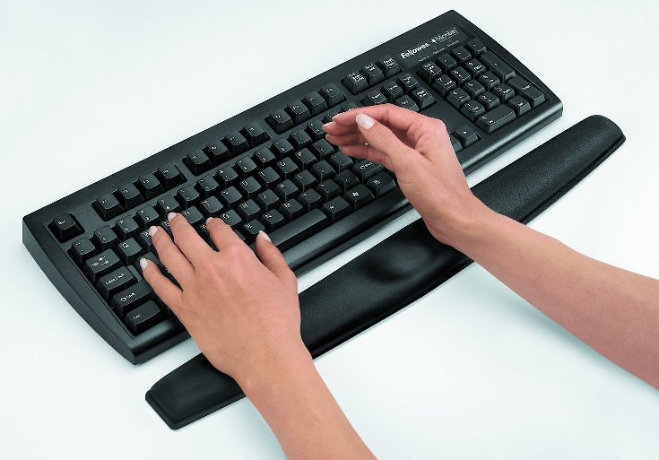 Fellowes Memory Foam Best Wrist Rest for keyboard