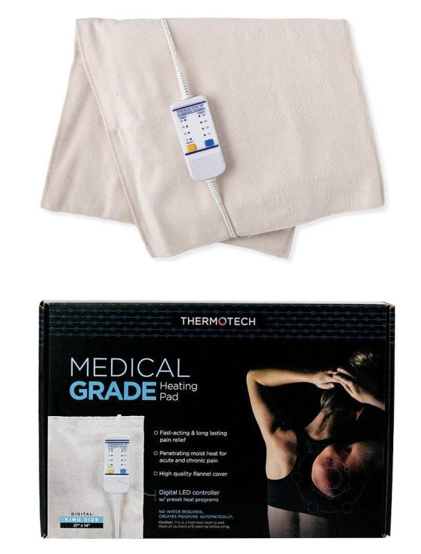 Thermotech Automatic Digital Moist Best Heating Pad Reviews -Best Buy