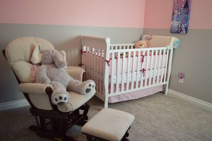 Nursery Glider and Recliner